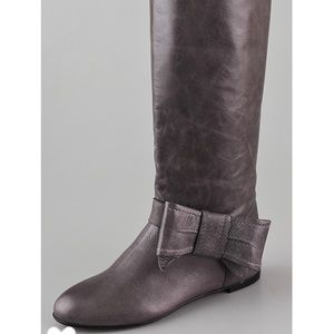 RED Valentino flat boots